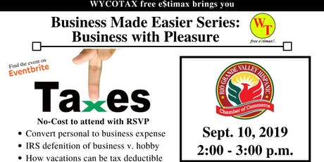 Business Made Easier: Business with Pleasure  tickets