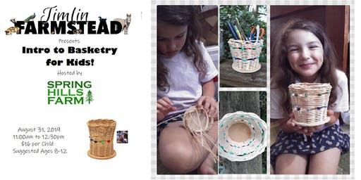 Introduction to Basketry for Kids (Ages 8-12)