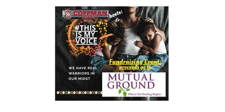 This Is My Voice Fundraiser for Mutual Ground Org. tickets