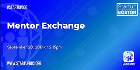 Mentor Exchange  tickets