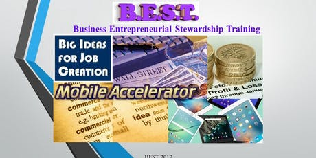 Business Entrepreneurial Stewardship Training Mobile Accelerator Autumn 2019 tickets