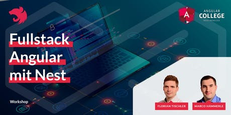 Workshop: Fullstack Angular mit Nest in Stuttgart Tickets