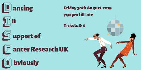 Boogie for Cancer Research UK tickets