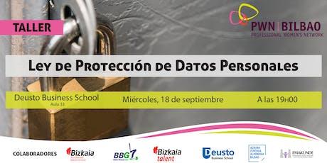 Ley de Protección de Datos Personales entradas