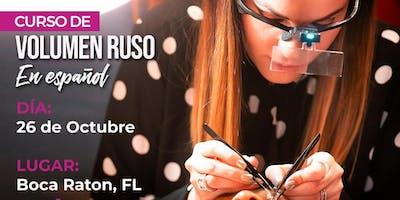 Curso de Volumen Ruso - Boca Raton, FL