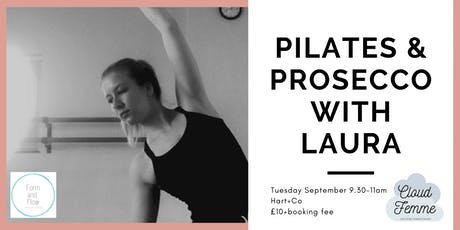 Pilates & Prosecco with Laura (Form & Flow) tickets
