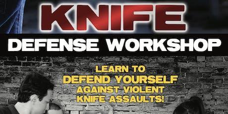 Knife Defense Seminar tickets