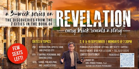 The Book of Revelation - Every Brick Reveals A Story By Dr. Fred Toke tickets