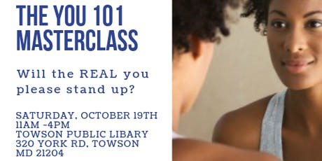 The YOU 101 Masterclass tickets