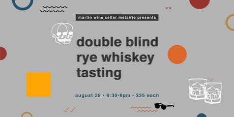 Double Blind Rye Whiskey Tasting tickets