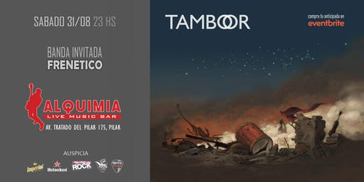 TAMBOOR en Alquimia Live Music Bar