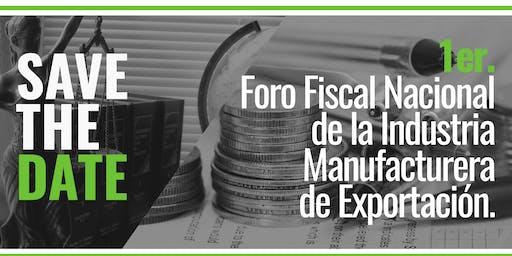 1er Foro Fiscal Nacional