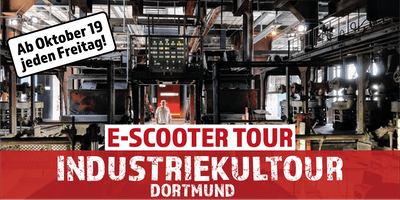 "E-Scooter Tour: ""Industriekultour"" Dortmund"