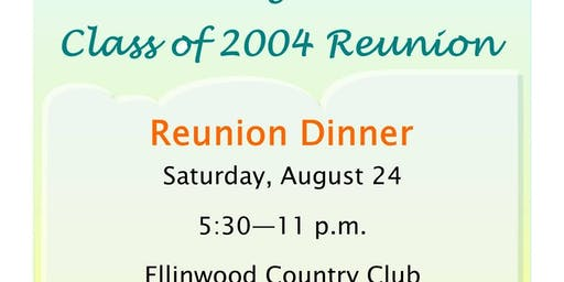15-Year Reunion - Dinner