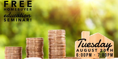 FREE Homebuyer Education Seminar! tickets
