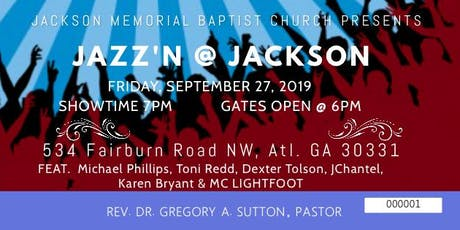 Jazz'n @ Jackson 2019 tickets