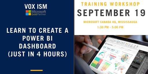 Learn to create Power BI Dashboards (just in 4 hours) - Microsoft