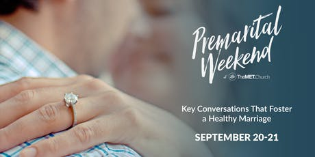 PREMARITAL WEEKEND - Fall 2019 tickets