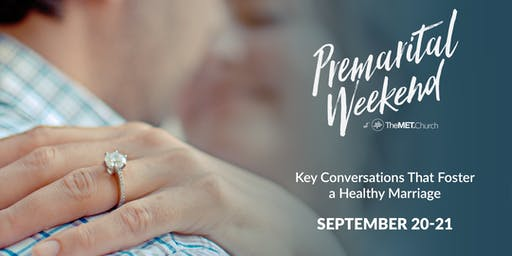 PREMARITAL WEEKEND - Fall 2019