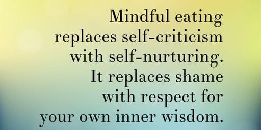 3-week Mindful Eating Series