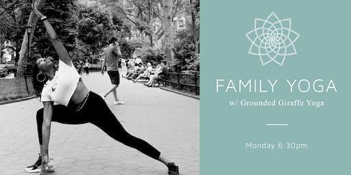Family Yoga w/ The Grounded Giraffe