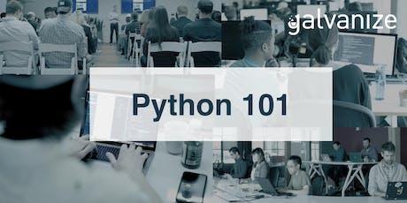 Python 101  tickets
