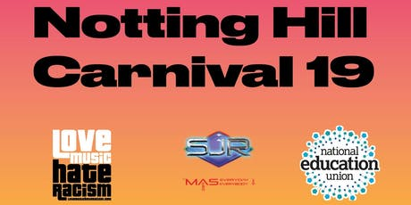 Notting Hill Carnival T-Shirt Package: LoveMusicHateRacism x NEU x Smokey Joe Roadshow tickets