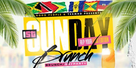 1st SUNDAY BRUNCH - REP YOUR FLAG EDITION tickets