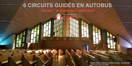 Journées du patrimoine religieux de Montréal - Circuits guidés en autobus billets
