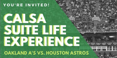 Superintendents & Administrators Suite Life Experience by CALSA tickets
