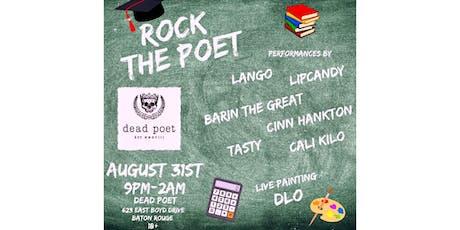 Rock the Poet tickets