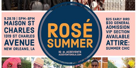 Rose Summer tickets