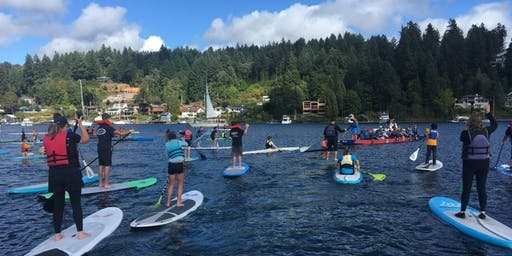 3rd Annual SUP in the Harbor: A Family Event for Peninsula Schools