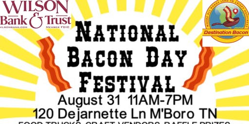Annual National Bacon Day Festival