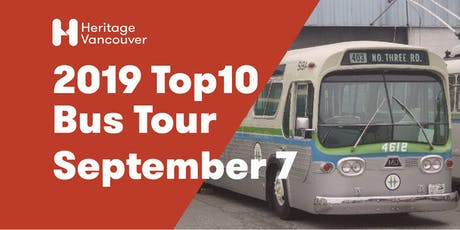 2019 Top10 Endangered Sites Bus Tour tickets