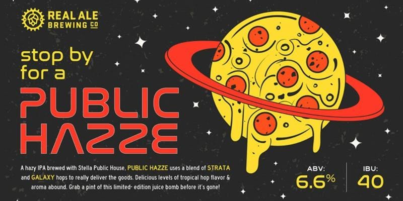 Public Hazze Day with Real Ale Brewing