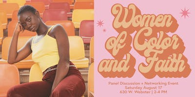 Women of Color and Faith: Panel Discussion + Networking Event