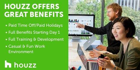Houzz Irvine Sales Hiring Event! tickets