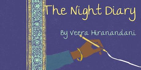 Tween Book Club: The Night Diary by Veera Hiranandani tickets