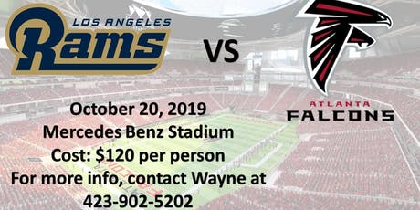 LA Rams vs Atlanta Falcons Game tickets