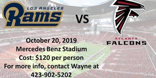 LA Rams vs Atlanta Falcons Game