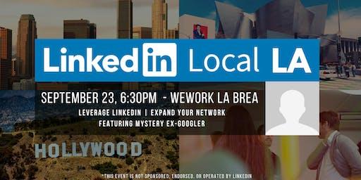 #LinkedInLocalLA Meetup - Featuring Former Googler