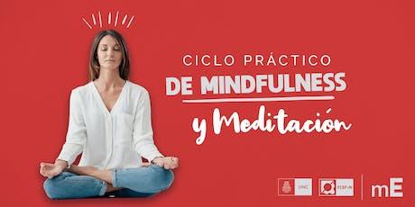 Ciclo práctico de Mindfulness y Meditación entradas