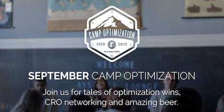 September Camp Optimization Meet-Up tickets