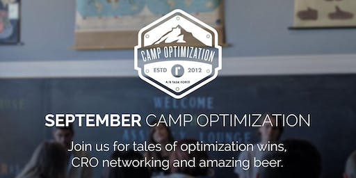 September Camp Optimization Meet-Up