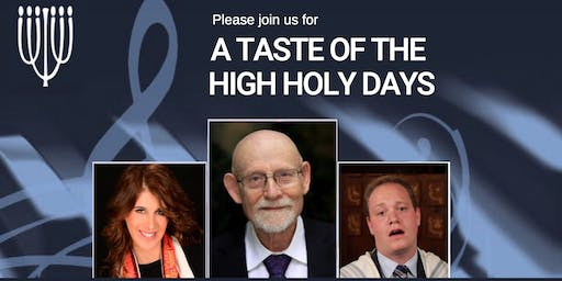 A Taste of the High Holy Days 2019