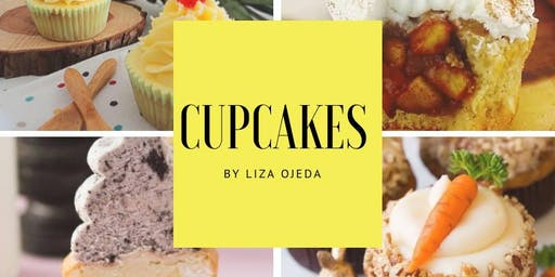 Cupcakes 1 con el Chef Liza Ojeda Ruiz en Anna Ruíz Store