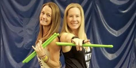 POUND Fitness class with Hollie & Wendy at Athleta Park Meadows