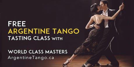 Free Beginner Tango Lesson ★ World Class Tango Teachers tickets