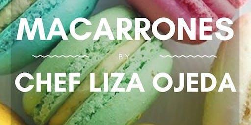 Macarrones franceses con la Chef Liza Ojeda en Anna Ruíz Store